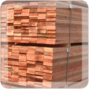 Full pallet of lumber supplies